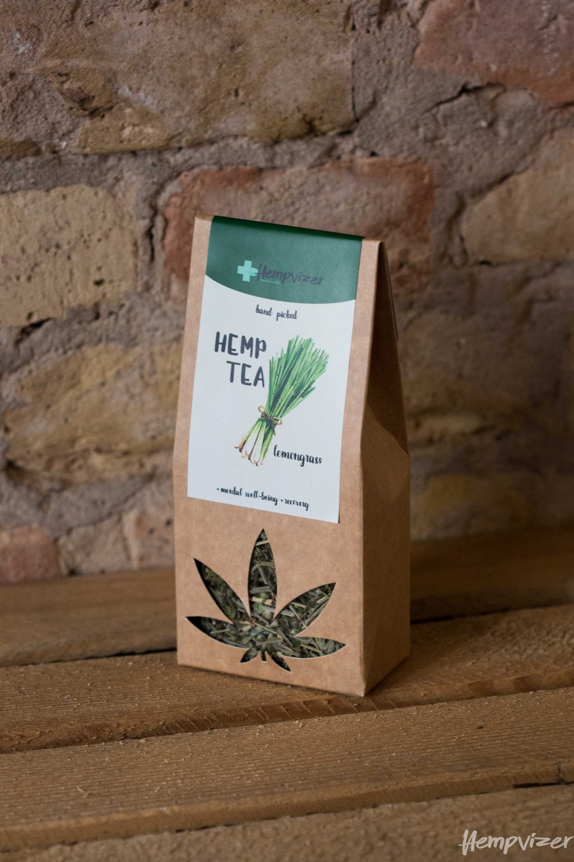 Hempvizer Hemp tea with lemon grass