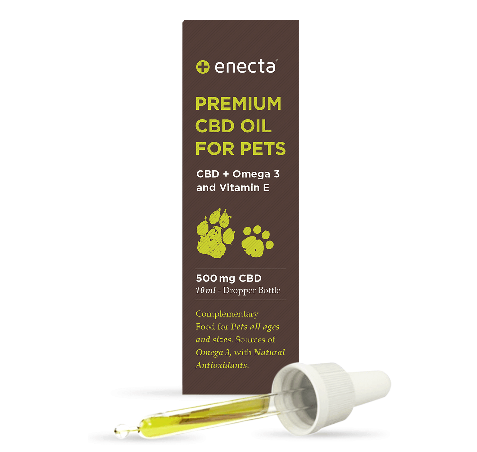 Enecta Premium CBD Oil for Pets 5%