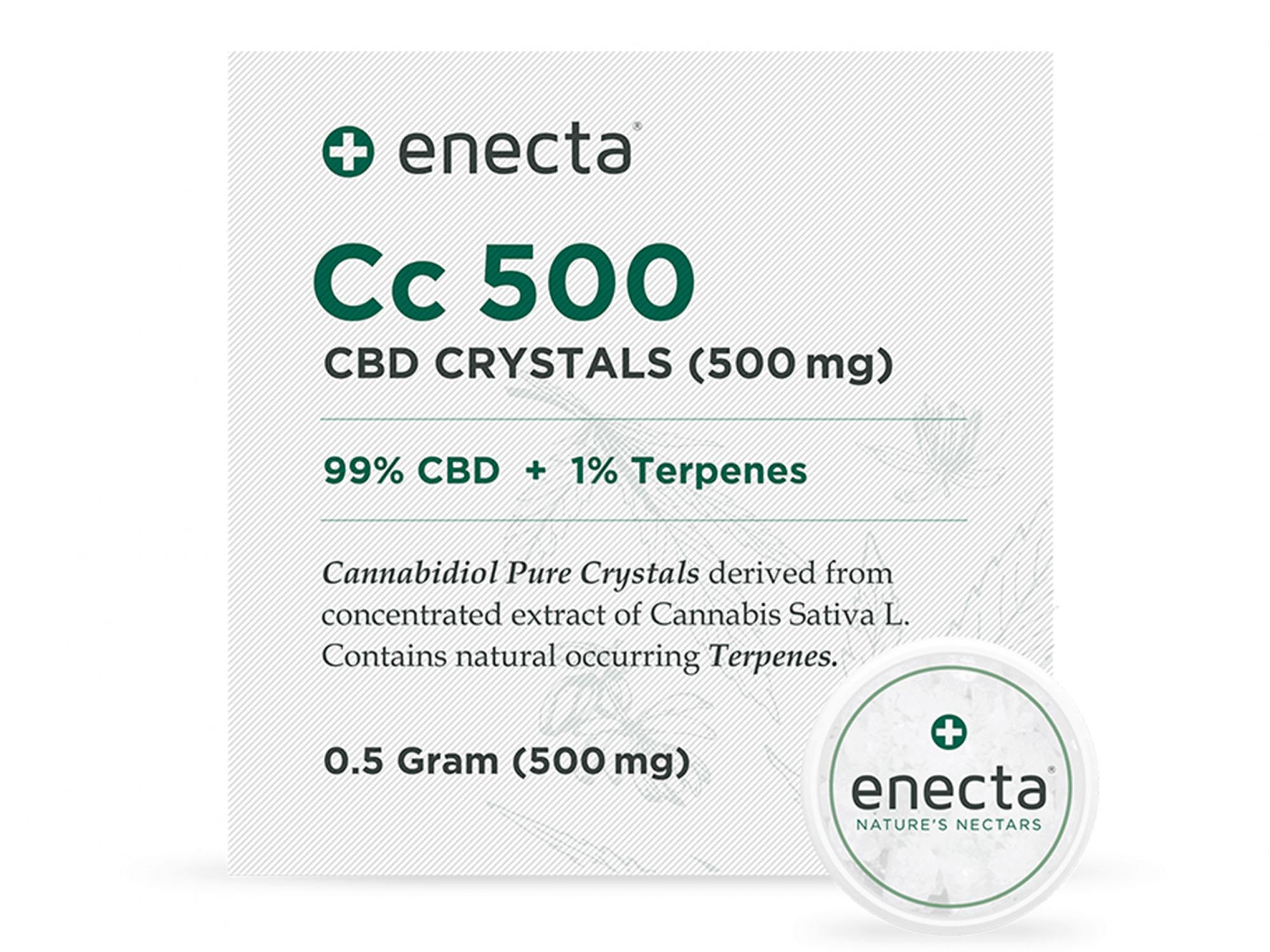 Enecta Cc500 - CBD Crystals 500mg
