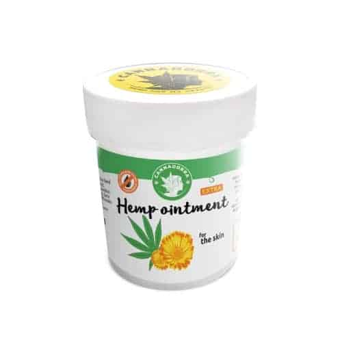 Hemp ointment for the skin