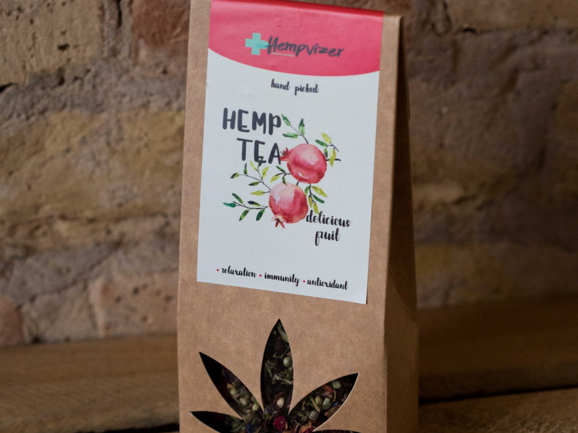 Hempvizer Hemp Tea with fruits 50g