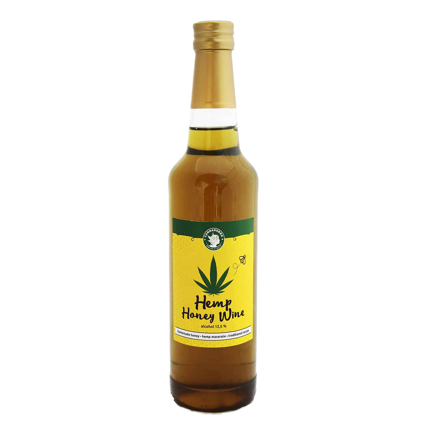 Hemp Honey Wine 500ml