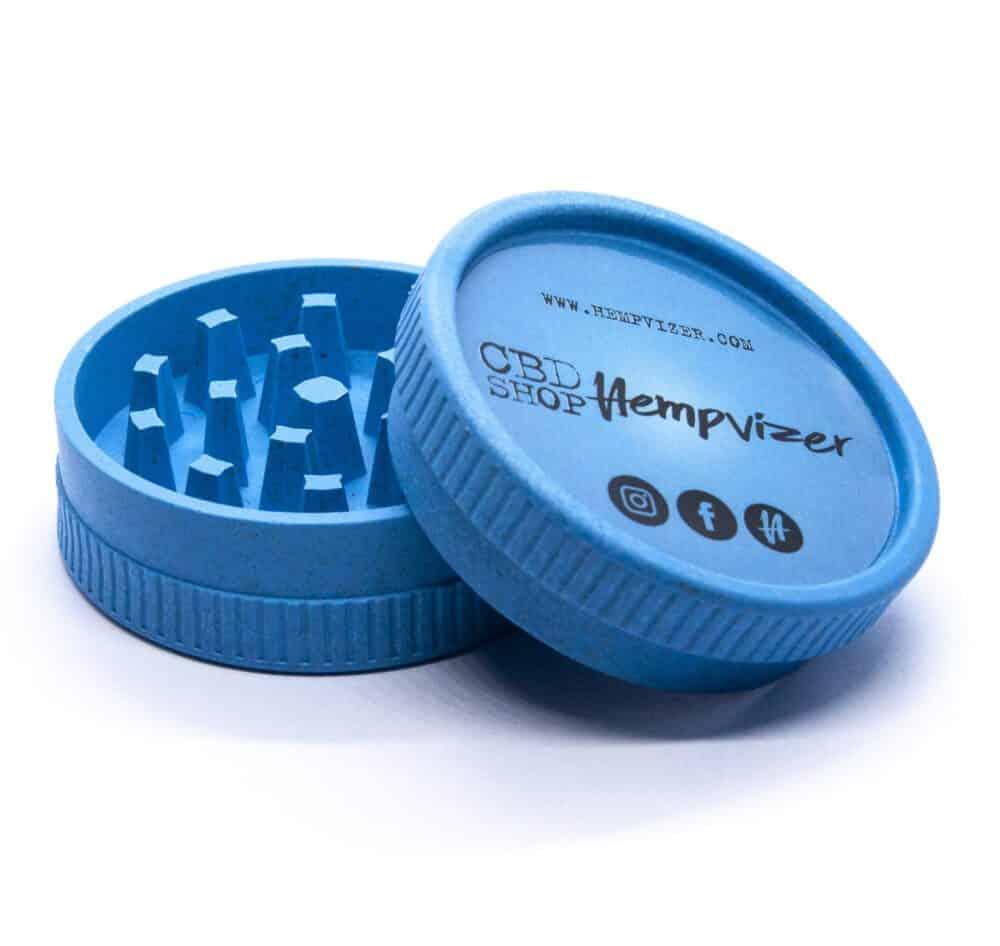 Hempvizer Eco-Grinder Blue